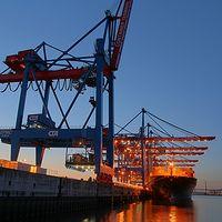 Ausschnitt von: Container Terminal Altenwerder (1)