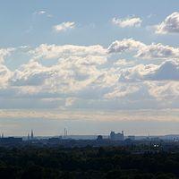 Ausschnitt von: Panorama von Hamburg