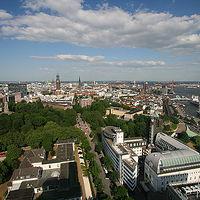 Ausschnitt von: Hamburg-Neustadt und die Landungsbrücken