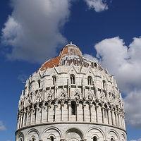 Ausschnitt von: Baptisterium in Pisa