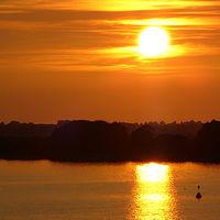 Ausschnitt von: Sonnenuntergang an der Schlei