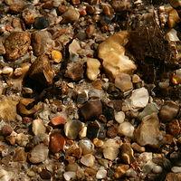 Ausschnitt von: Steine im Wasser